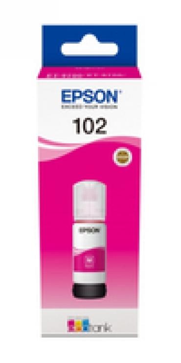 Epson 102 EcoTank Magenta ink bottle