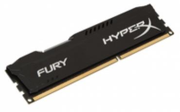 Kingston_ValueRAM DDR3 HyperX 4GB 1600MHz CL10 FURY Black Series