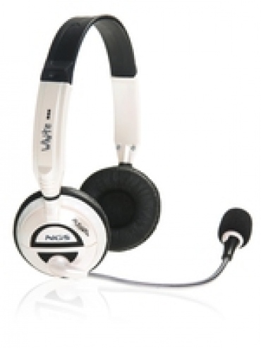 NGS HeadPhone + Microfone - côr: Branco