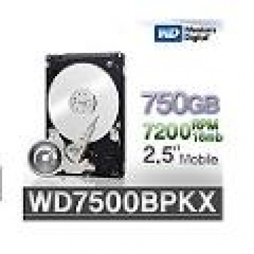 "Western_Digital ""WD Black HDD 750GB 2.5"""" 16mb cache SATA 7200 RPM"""