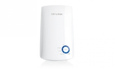 TP-LINK 300Mbps Universal Wireless N Range Extender  Wall Mount  2.4GHz  300Mbps  802.11b/g/n  internal antennas  Range Extender Button