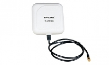 TP-LINK 2.4GHz 9dBi Outdoor Directional Panel Antenna  1m Cable  RP-SMA connector