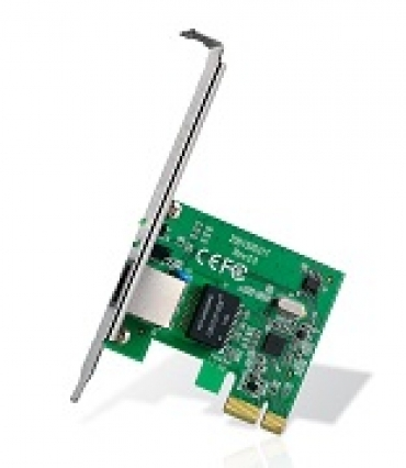 TP-LINK 32-bit Gigabit PCIe Network Adapter  Realtek RTL8168B  10/100/1000Mbps Auto-Negotiation RJ45 port  Auto MDI/MDIX