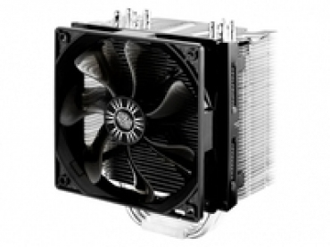 Cooler_Master Hyper 412S  4 Direct Contact Heat Pipes   Wider Fin Gap  CDCT Technology   Dual-Fan Desig  Quick-snap Fan Bracket Desig   Sandblasting Heat Sink Top  Compatible with Intel® LGA 2011/1366/1156/1155/775
