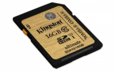 Kingston SD card 16gb Classe 10 UHS-I Ultimate
