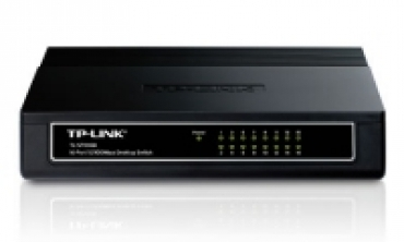 TP-LINK 16-Port 10/100 Switch Desktop