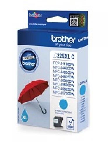 Brother Cartucho tinta cião grande capacidade  1.200 págs. A4  para: DCP4120DW/MFC-J4420DW/MFC-J4620DW/MFCJ5320DW/5620DW/5720DW