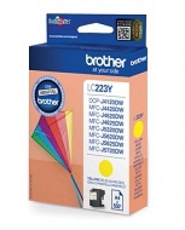 Brother Cartucho amarelo  550 págs. A4  para: DCP4120DW/MFC-J4420DW/MFC-J4620DW/MFCJ5320DW/5620DW/5720DW