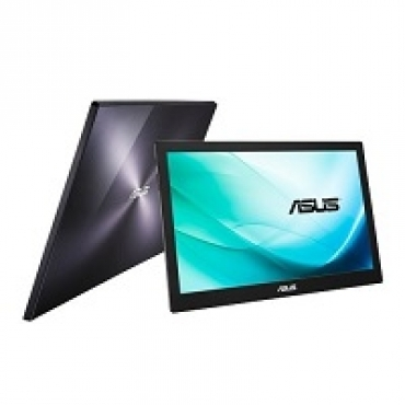 "Asus ""MB169B+ - TFT LED Mobile 15.6""""  1920 x 1080 Full HD  200 cd/m2  700:1  14ms  USB 3.0"""