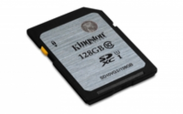 Kingston SD card 128gb Alta Capacidade classe 10