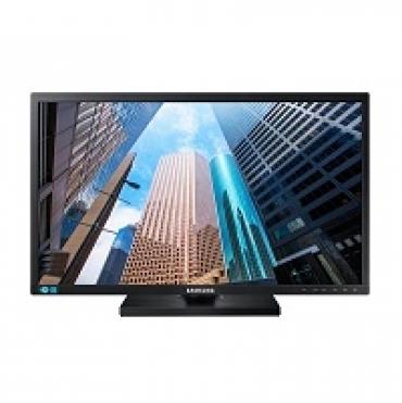 "Samsung ""S24E45 - LED 24""""  Brilho 250nits  Color Support 16.7 M  Tempo de resposta 5ms  VGA   DVI   USB Sound bar  Vesa 100x100 - Black high Glossy"""