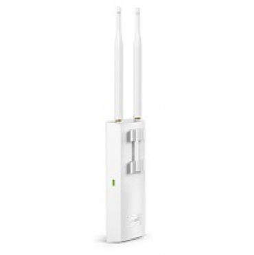 TP-LINK 300Mbps Wireless N Outdoor Access Point  Qualcomm  300Mbps at 2.4GHz  802.11b/g/n  1 10/100Mbps LAN  Passive PoE Supported  Centralized Management  Captive Portal  Multi-SSID  5dBi external omni anten