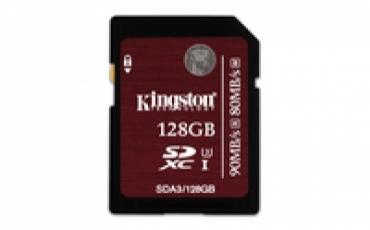 Kingston SD Card 128GB UHS-I Class 3