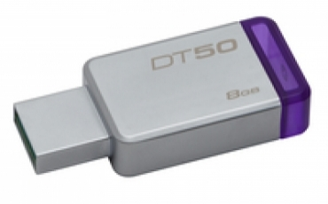 Kingston DataTraveler 50 8gb USB 3.0 Metal/Purple