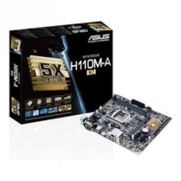 Asus H110M-A/M.2 - Intel H110  LGA1151  2DDR4(Dual channel) 21333 Mhz  32G Max  M-ATX
