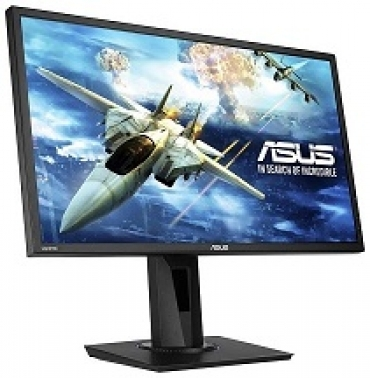 Asus VG245H - Gaming monitor 24   FHD - 1920x1080, 1ms, up to 75Hz, HDMI, D-Sub , Super Narrow Bezel, FreeSync via HDMI, Low Blue Light, Flicker Free - Preto