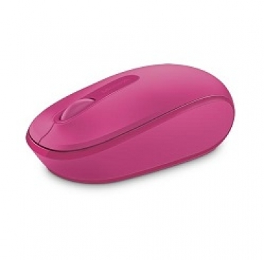 Microsoft Wireless Mobile Mouse 1850 Win7/8 EN/AR/CS/NL/FR/EL/IT/PT/RU/ES/UK EMEA EFR Magenta Pink