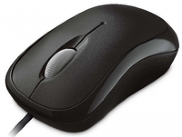 Microsoft L2 Basic Optical Mouse Mac/Win USB - Preto