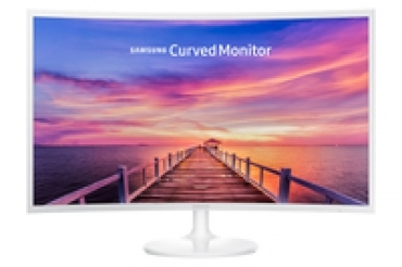"Samsung ""C32F391 - Monitor Curvo 31.5"""" LED, FHD, Brilho  250nits, Tempo de resposta  4ms, VGA, HDMI, Display Port, CR 3000 1, Mega Contrast DCR, View Angle 178/178, Magic Angle, Game mode, Magic Upscale, Aud"
