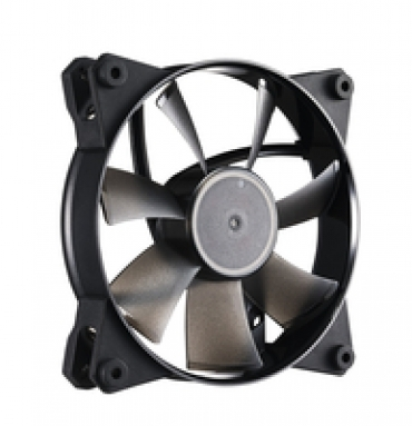 Cooler_Master MasterFan Pro 120 Air Flow  120mm case fan  ideal for exhausting large volumes of air quickly out of the case. Recommended to use on the rear or top panels.