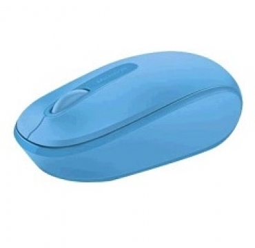 Microsoft Wireless Mobile Mouse 1850 Win7/8 EN/AR/CS/NL/FR/EL/IT/PT/RU/ES/UK EMEA EFR Cyan Blue
