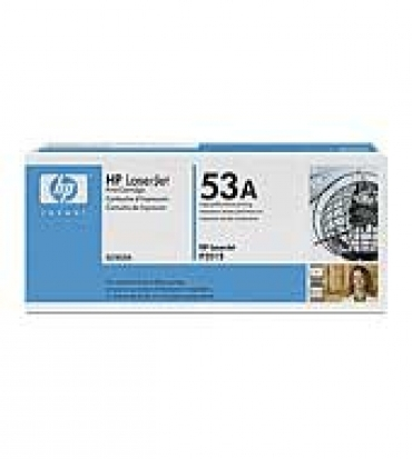 HP HP LaserJet Q7553A Black Print Cartridge for LJ P2015  up to 3 000 pages
