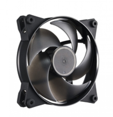 Cooler_Master MasterFan Pro 120 Air Pressure  120mm case fan  ideal for funneling concentrated air short distances at hot components or tight spaces. Recommended for front panel to penetrate mesh wiring and tightly
