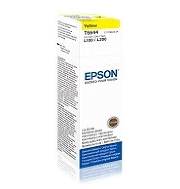Epson T6644 Yellow ink bottle 70ml  - preço válido até fim de stock das unidades pré-estabelecidas