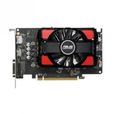 Asus RX550-2G - Radeon RX 550  2GB GDDR5  1x Dual-link DVI-D (HDCP support)  Native x 1  2 Slots  PCI-E 3.0