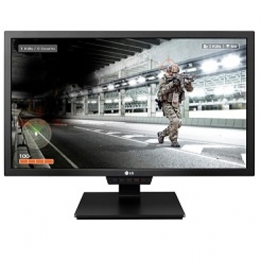 "LG ""24GM79G-B - LED 24"""" - 144Hz - FreeSync  Tempo de resposta 1ms (MBR)  Brilho 350 cd  Contraste Mega  HDMI / Display Port / USB 3.0  Resolução 1920 x 1080 - Preto"""