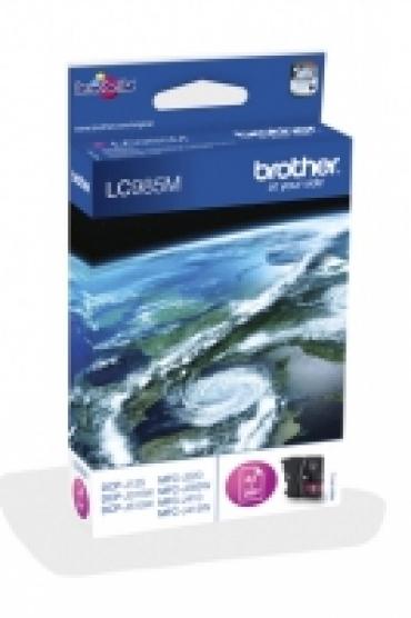 Brother Cartucho tinta magenta Blister. 260 pág. p/ DCP-J125/J315W/J265W/J410/J415W