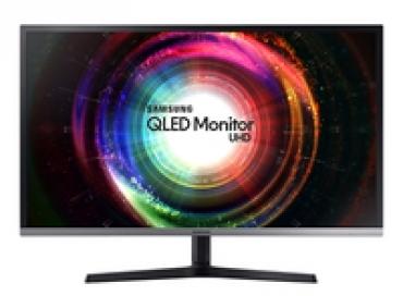 """Samsung """"U32H850UMU - Monitor UHD 31.5"""""""" Panel VA  Resolução 3840x2160  Brilho 250cd/m2  Tempo de resposta 4ms  2 x HDMI  2 (1 mini DP)"""""""