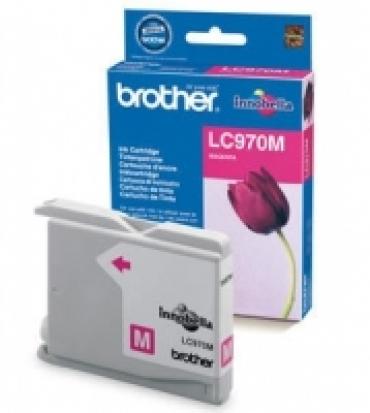 Brother Cartucho tinta magenta em blister Duração estimada até 300 páginas A4 a 5% de cobertura p/ DCP135/150C/MFC235C/260C