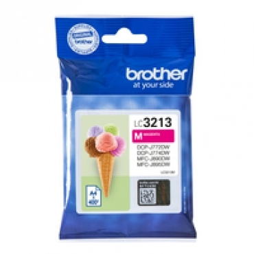 Brother Tinteiro magenta de alta capacidade  duração estimada até 400 páginas (segundo ISO/IEC 24711)