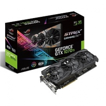 Asus ROG-STRIX-GTX1070TI-8G-GAMING - 1X Native Dual-link DVI-D, PCI-E 3.0