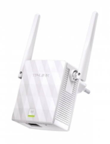 TP-LINK 300Mbps Wireless N Wall Plugged Range Extender  Qualcomm  2T2R  2.4GHz  802.11b g n  1 10 100M LAN  Ranger Extender button  AP & Range extender mode  2 fixed antennas