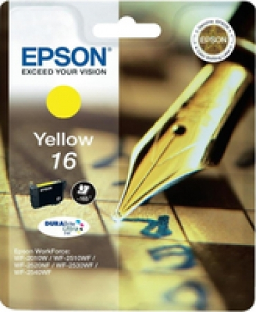 Epson Tinteiro Amarelo 16 Tinta DURABrite Ultra (c/alarme RF AM)