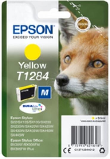 Epson Tinteiro AMARELO STYLUS S22/SX420W/425W/Office BX305F com etiqueta de segurança - Radio Frequencia y Acoustic Magnetic