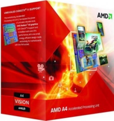 AMD A4-6300 - 3.9 GHZ - 1mb cache - FM2+ - c  AMD Radeon? HD 8370D