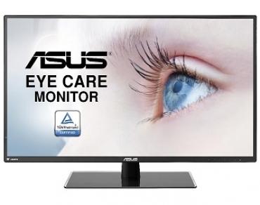 "Asus ""VA32AQ - Monitor WLED 31.5""""  WQHD (2560x1440)  IPS  Non-glare  250cd/m²  5ms  Flicker free  Low Blue Light  TUV certified - Preto"""
