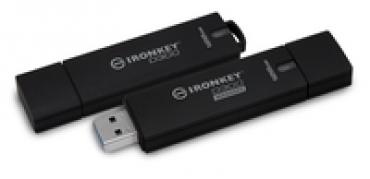 Kingston 128GB IronKey D300 Managed Encrypted USB 3.0 FIPS Level 3