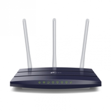 TP-LINK N450 Gigabit Wi-Fi Router  Qualcomm  802.11b/g/n  3T3R  450Mbps at 2.4GHz  5 Gigabit Ports  3 5dBi fixed antennas  Wireless On/Off  Power On/Off  WPS   IPv6 Ready  IPTV  Tether App