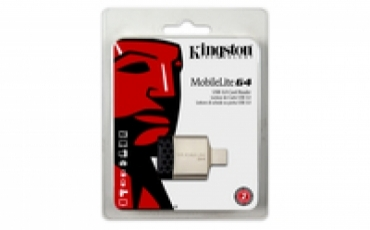 Kingston Leitor de Cartões MobileLite G4 USB 3.0  (microSDHC/SDHC/SDXC)