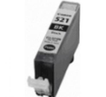 Compatível Canon CLI521 Preto