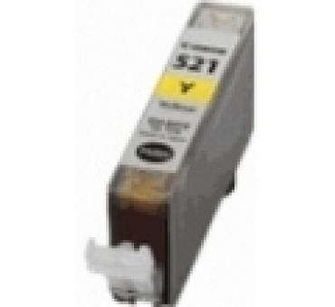 Compatível Canon CLI521 Amarelo