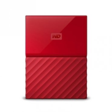 Western_Digital MY PASSPORT Thin 2TB Red USB 3.0