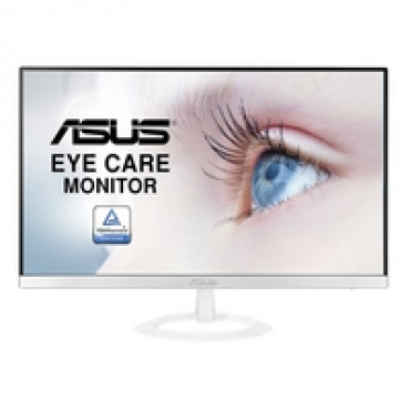 "Asus ""VZ249HE-W - Monitor 24"""" (23.8"""")  FHD (1920x1080)  IPS  Ultra-Slim Design  HDMI  D-Sub  Flicker free  Low Blue Light  TUV certified - White"""