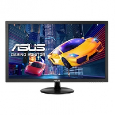 "Asus ""VP248H - Gaming Monitor 24"""" FHD (1920x1080)  1ms  up to 75Hz  HDMI  D-Sub  Adaptive-Sync Low Blue Light  Flicker Free  TUV Certified - Black"""