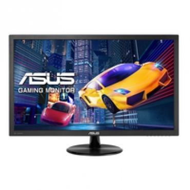 "Asus ""VP228QG - Monitor Gaming de 21.5"""" FHD (1920x1080)  1ms  up to 75Hz  DP  HDMI  D-Sub   Low Blue Light  Flicker Free  TUV certified - Preto"""