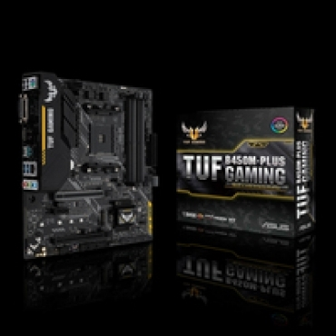 Asus TUF B450M-PLUS Gaming - socket  AMD AM4  USB 3.1  SATA 6GB/S